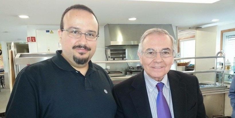 João Martins e Sérgio Niza em 2013 na FPCEUP.